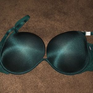 NEW Victoria's Secret green push up bra 36DD